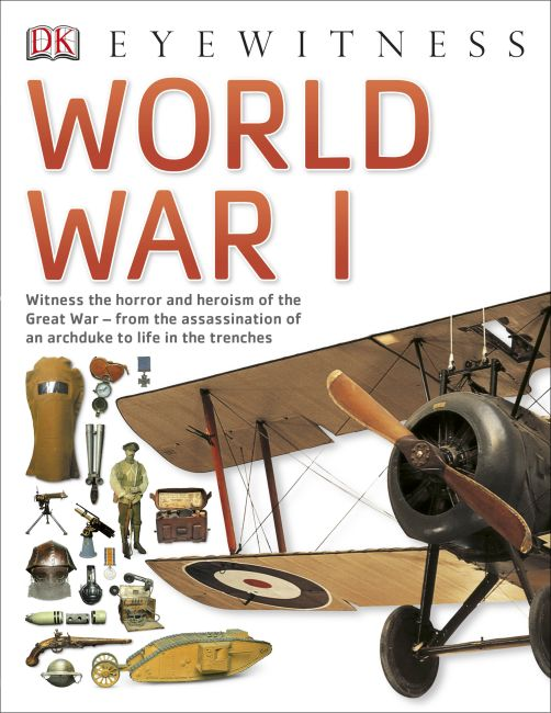 Paperback cover of World War I