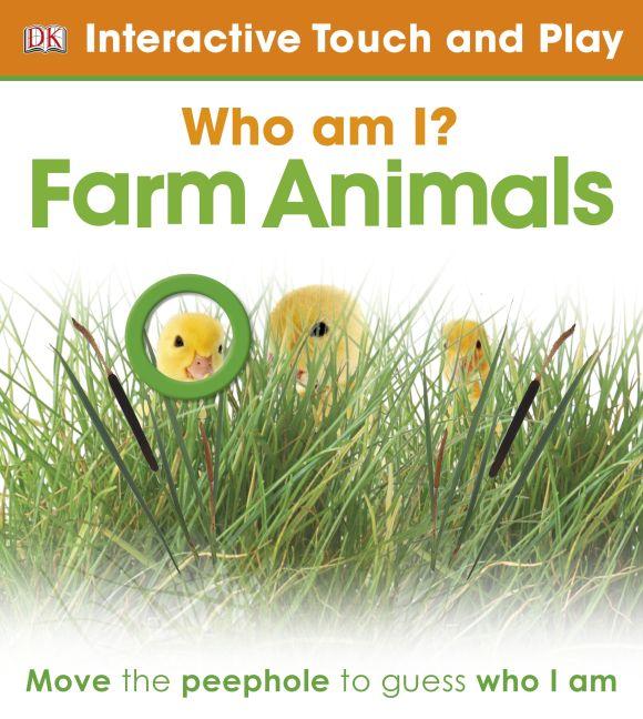 eBook cover of Who Am I? Farm Animals