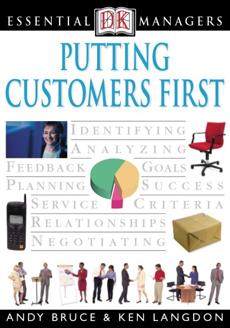 eBook cover of DK Essential Managers: Putting Customers First