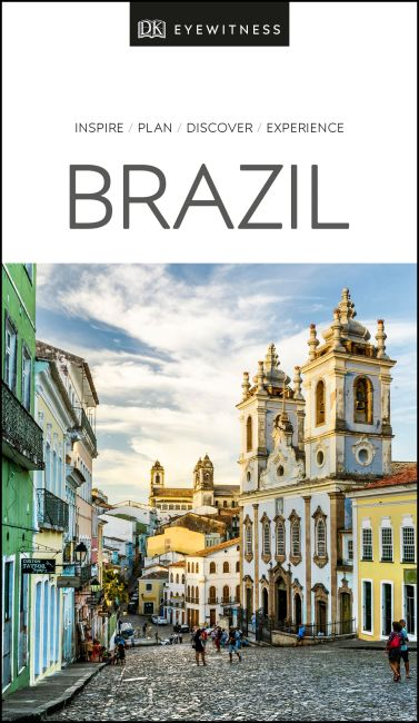 Paperback cover of DK Eyewitness Brazil