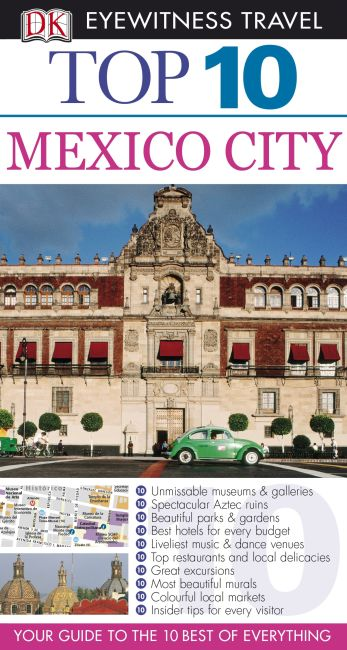eBook cover of DK Eyewitness Top 10 Travel Guide: Mexico City