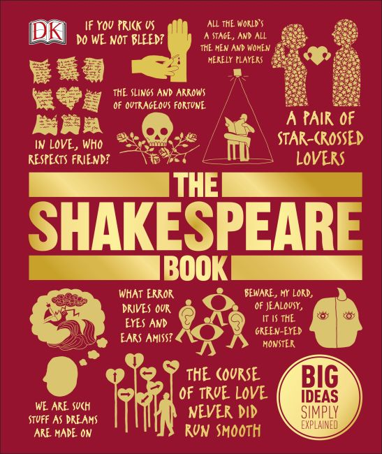 Hardback cover of The Shakespeare Book