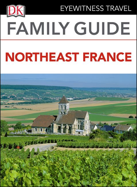 eBook cover of Family Guide Northeast France