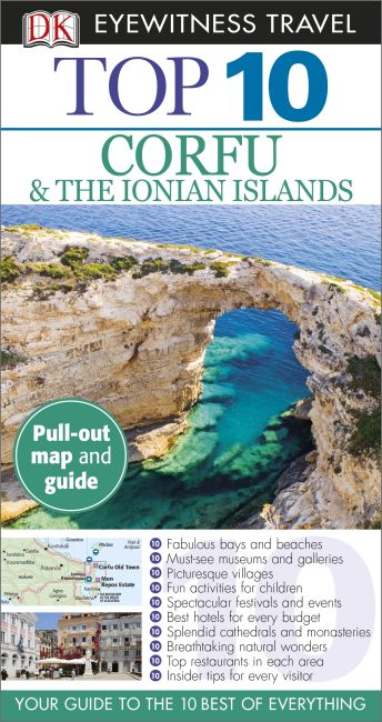 Paperback cover of Top 10 Corfu & the Ionian Islands