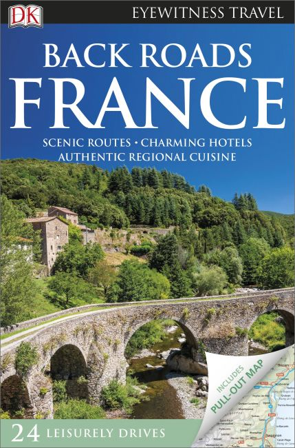 Flexibound cover of DK Eyewitness Back Roads France