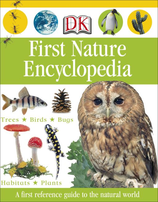 Hardback cover of First Nature Encyclopedia