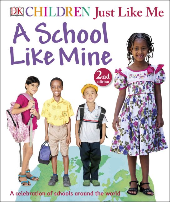 Hardback cover of A School Like Mine
