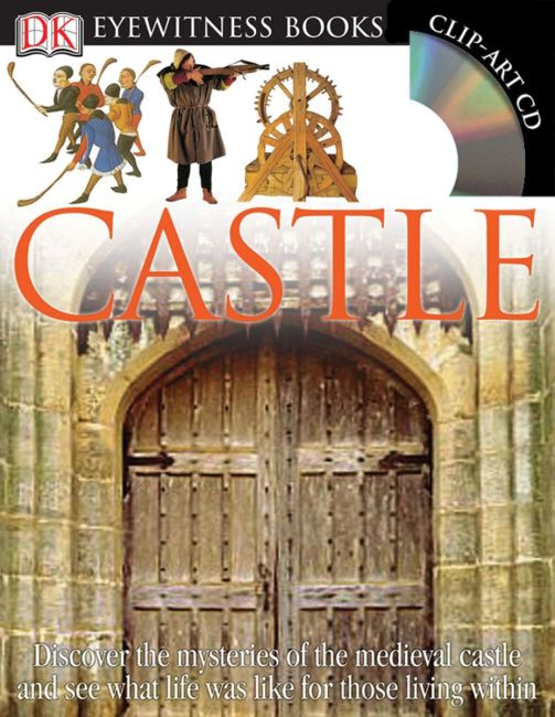 Hardback cover of DK Eyewitness Books: Castle