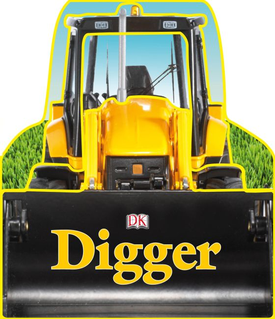 Board book cover of SHAPED BOARD BOOKS: Diggers