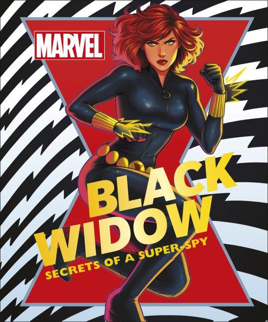 Hardback cover of Marvel Black Widow
