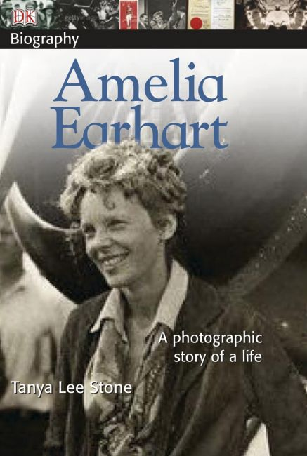 Paperback cover of DK Biography: Amelia Earhart