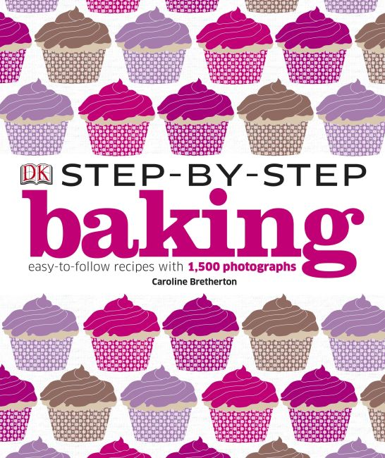 Hardback cover of Step-by-Step Baking