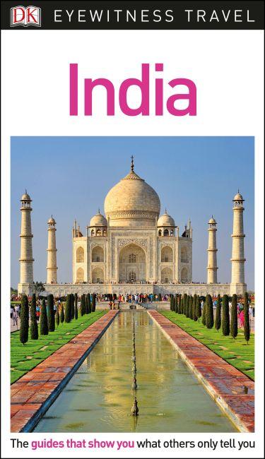 Flexibound cover of DK Eyewitness Travel Guide India