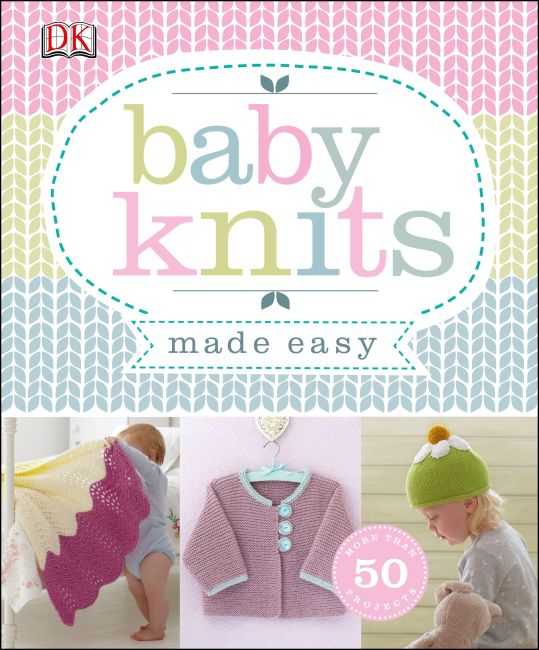 Paperback cover of Baby Knits Made Easy