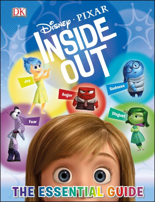 Hardback cover of Disney Pixar Inside Out: The Essential Guide
