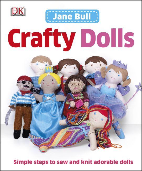Hardback cover of Crafty Dolls