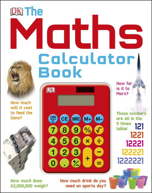 Hardback cover of The Maths Calculator Book