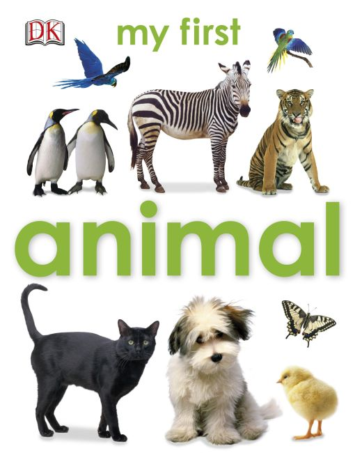 eBook cover of My First Animal