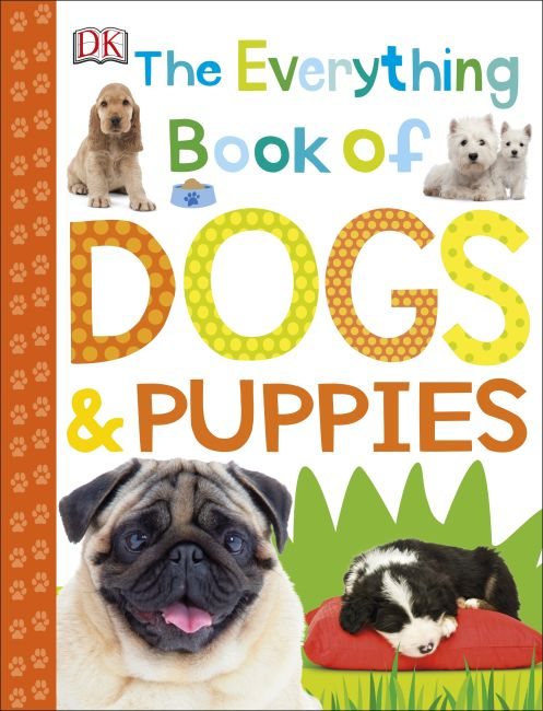 Paperback cover of The Everything Book of Dogs and Puppies