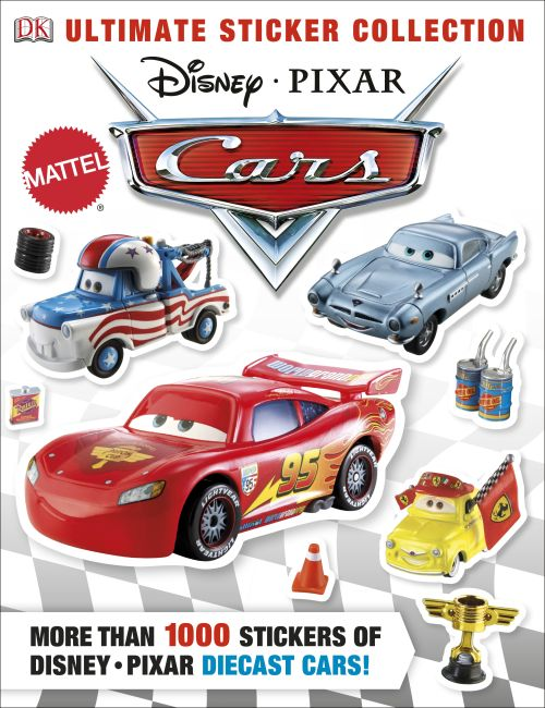 Paperback cover of Ultimate Sticker Collection: Disney Pixar Cars