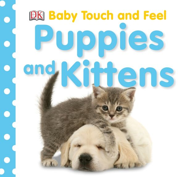 Board book cover of Puppies and Kittens