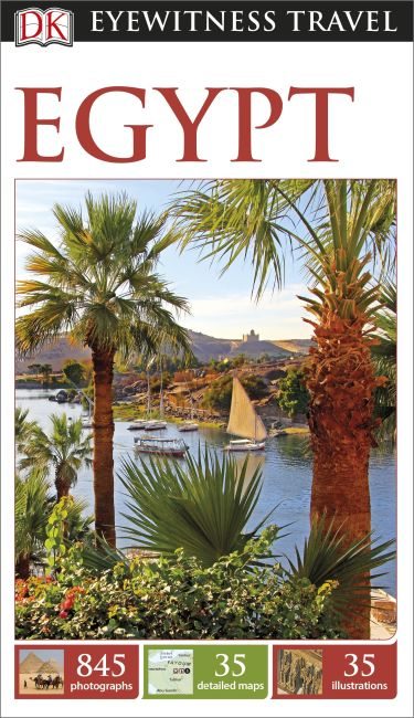 Flexibound cover of DK Eyewitness Travel Guide Egypt