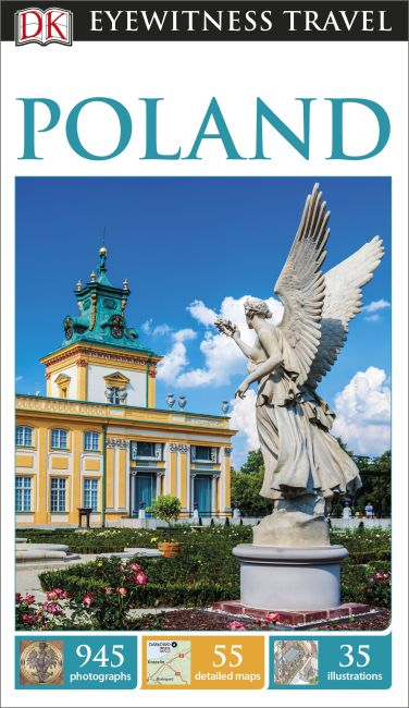 Paperback cover of DK Eyewitness Travel Guide Poland