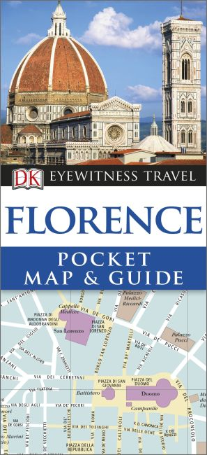 Paperback cover of Florence Pocket Map and Guide