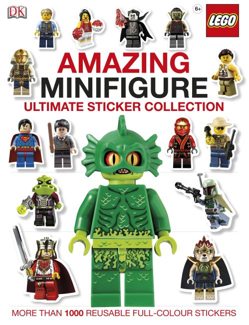Paperback cover of LEGO® Amazing Minifigure Ultimate Sticker Collection