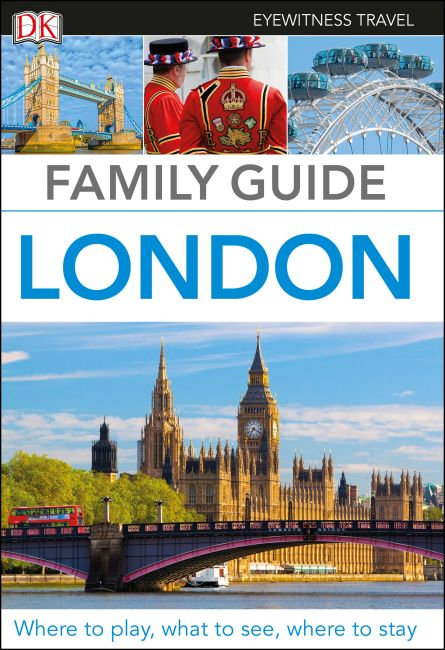 Flexibound cover of DK Eyewitness Family Guide London
