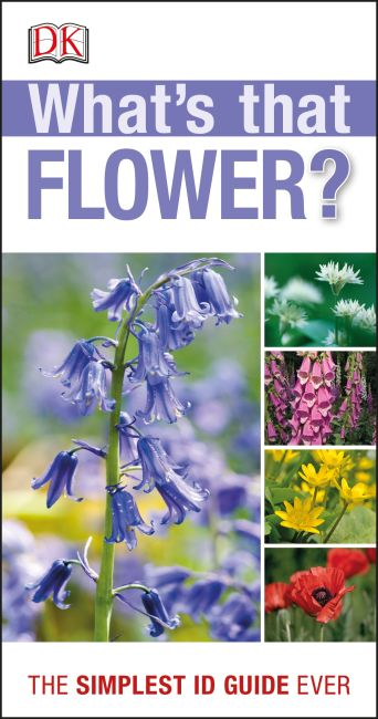Paperback cover of RSPB What's that Flower?