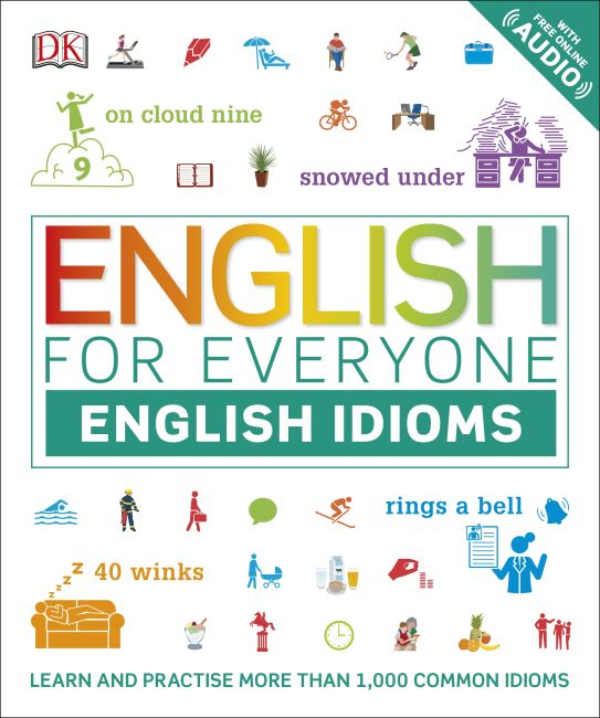 Flexibound cover of English for Everyone English Idioms