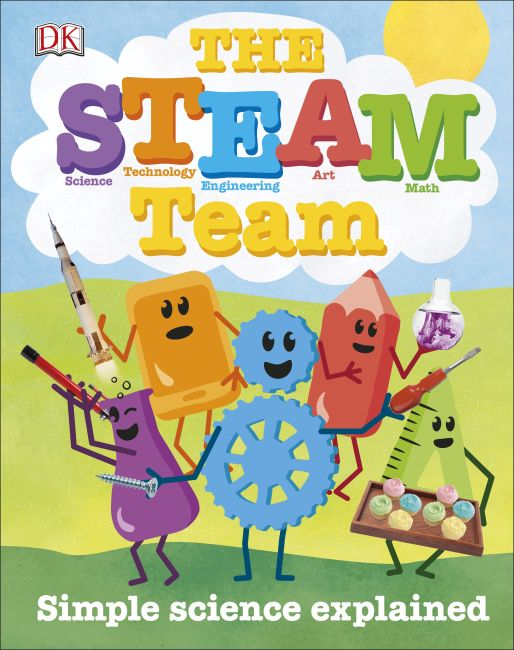 Hardback cover of The STEAM Team