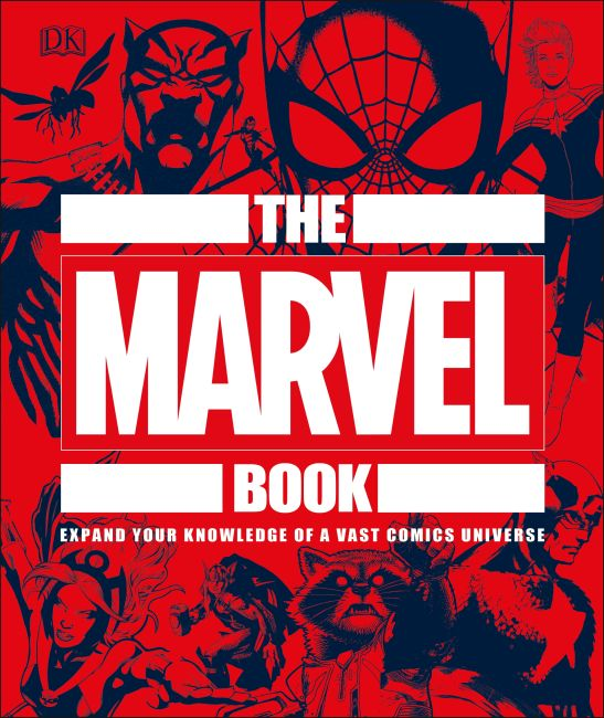 Hardback cover of The Marvel Book