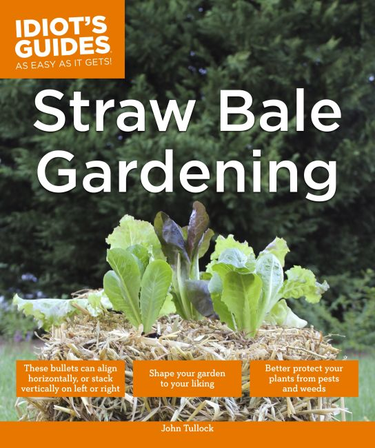 Paperback cover of Straw Bale Gardening