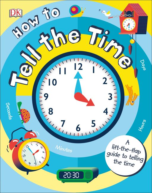 Board book cover of How to Tell the Time