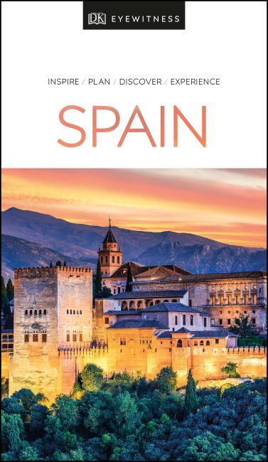Paperback cover of DK Eyewitness Spain