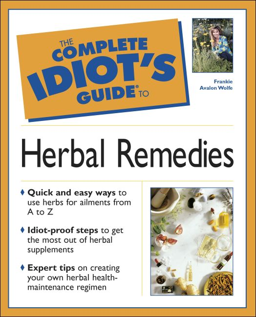eBook cover of The Complete Idiot's Guide to Herbal Remedies
