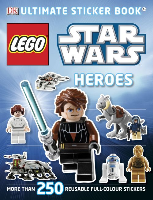 Paperback cover of LEGO® Star Wars Heroes Ultimate Sticker Book