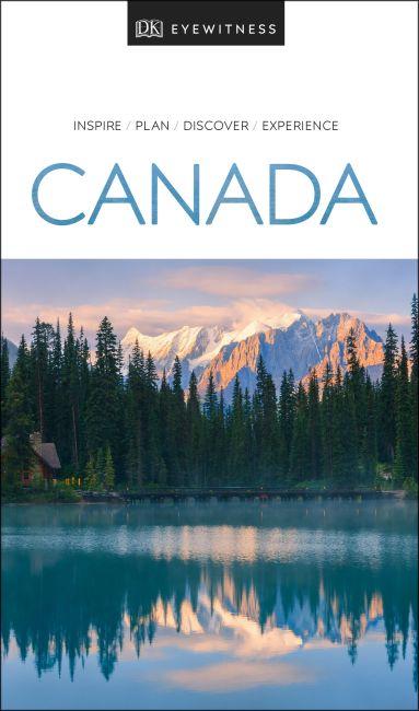 Paperback cover of DK Eyewitness Canada