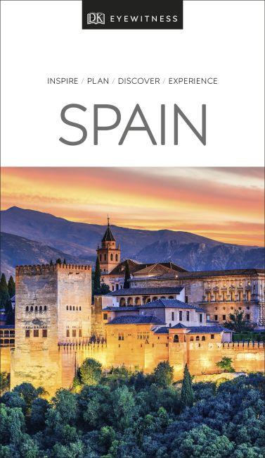 Paperback cover of DK Eyewitness Travel Guide Spain