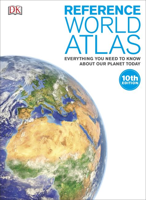 Hardback cover of Reference World Atlas