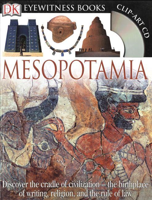 Hardback cover of DK Eyewitness Books: Mesopotamia