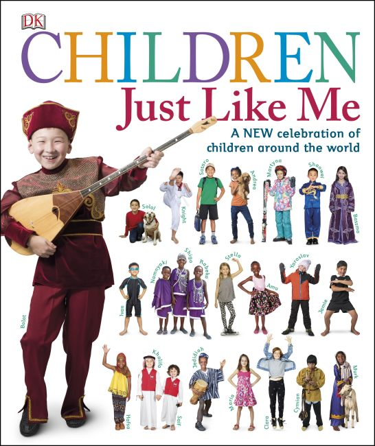 Hardback cover of Children Just Like Me