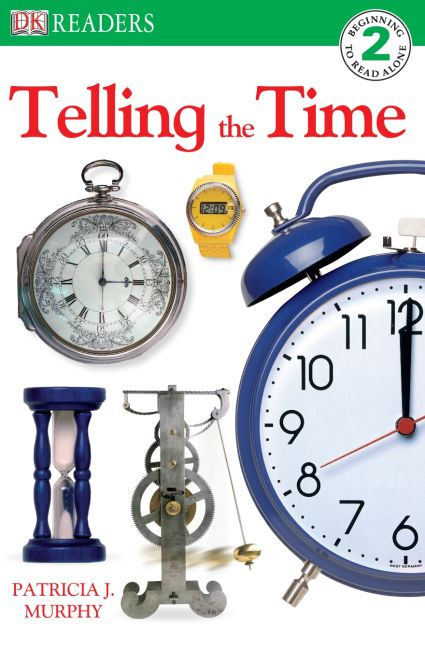 eBook cover of DK Reader Level 2: Telling the Time