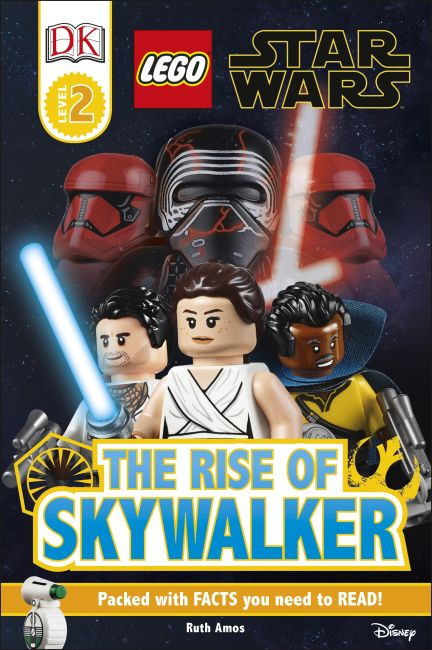 Hardback cover of LEGO Star Wars The Rise of Skywalker