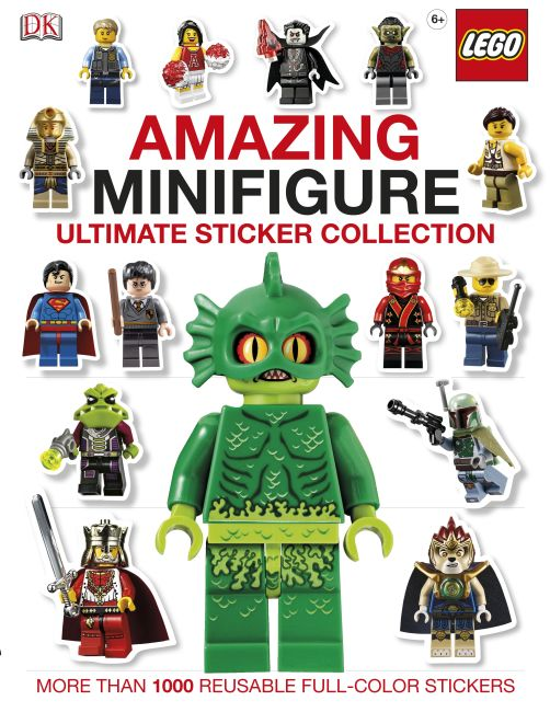 Paperback cover of Ultimate Sticker Collection: Amazing LEGO® Minifigure