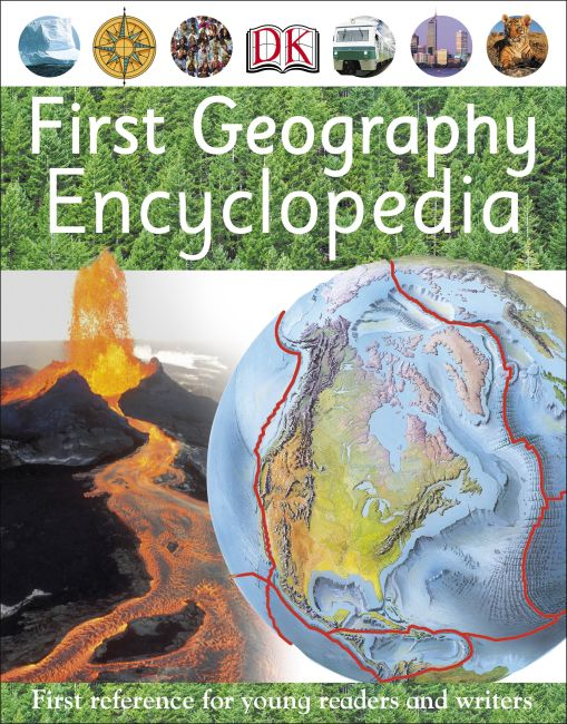 Paperback cover of First Geography Encyclopedia
