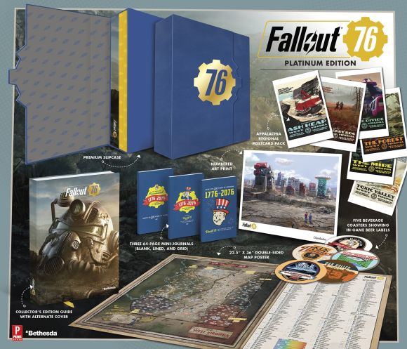 Hardback cover of Fallout 76