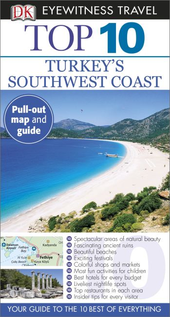 Paperback cover of Top 10 Turkey's Southwest Coast